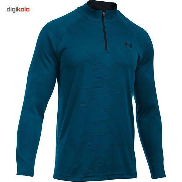 تی شرت مردانه آندر آرمور مدل Tech Jacquard -  - 2