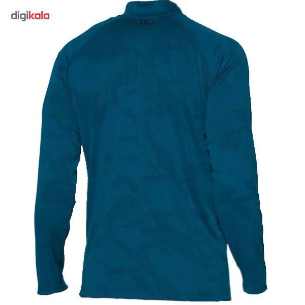 تی شرت مردانه آندر آرمور مدل Tech Jacquard -  - 1