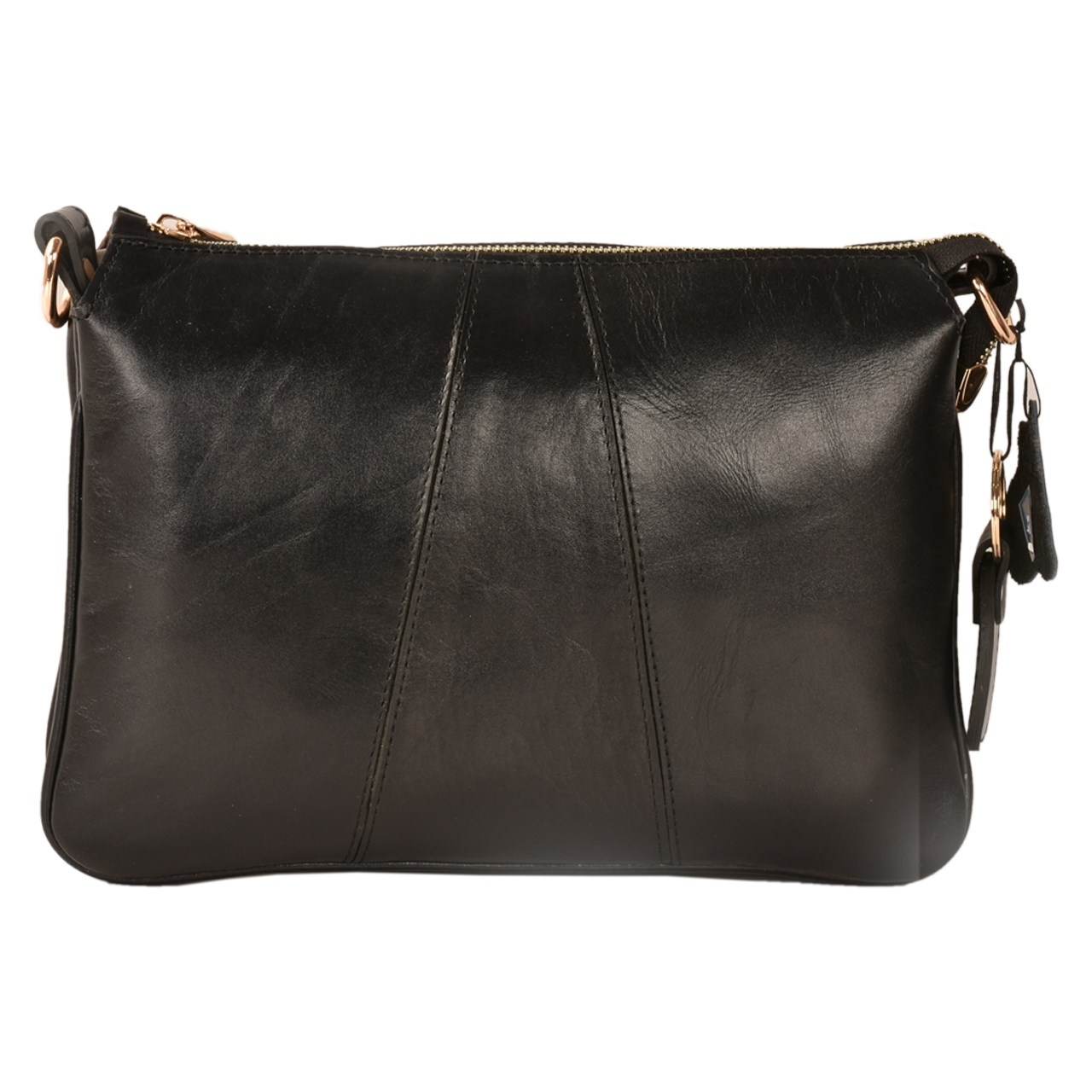 کیف رو دوشی چرم طبیعی کهن چرم مدل V155