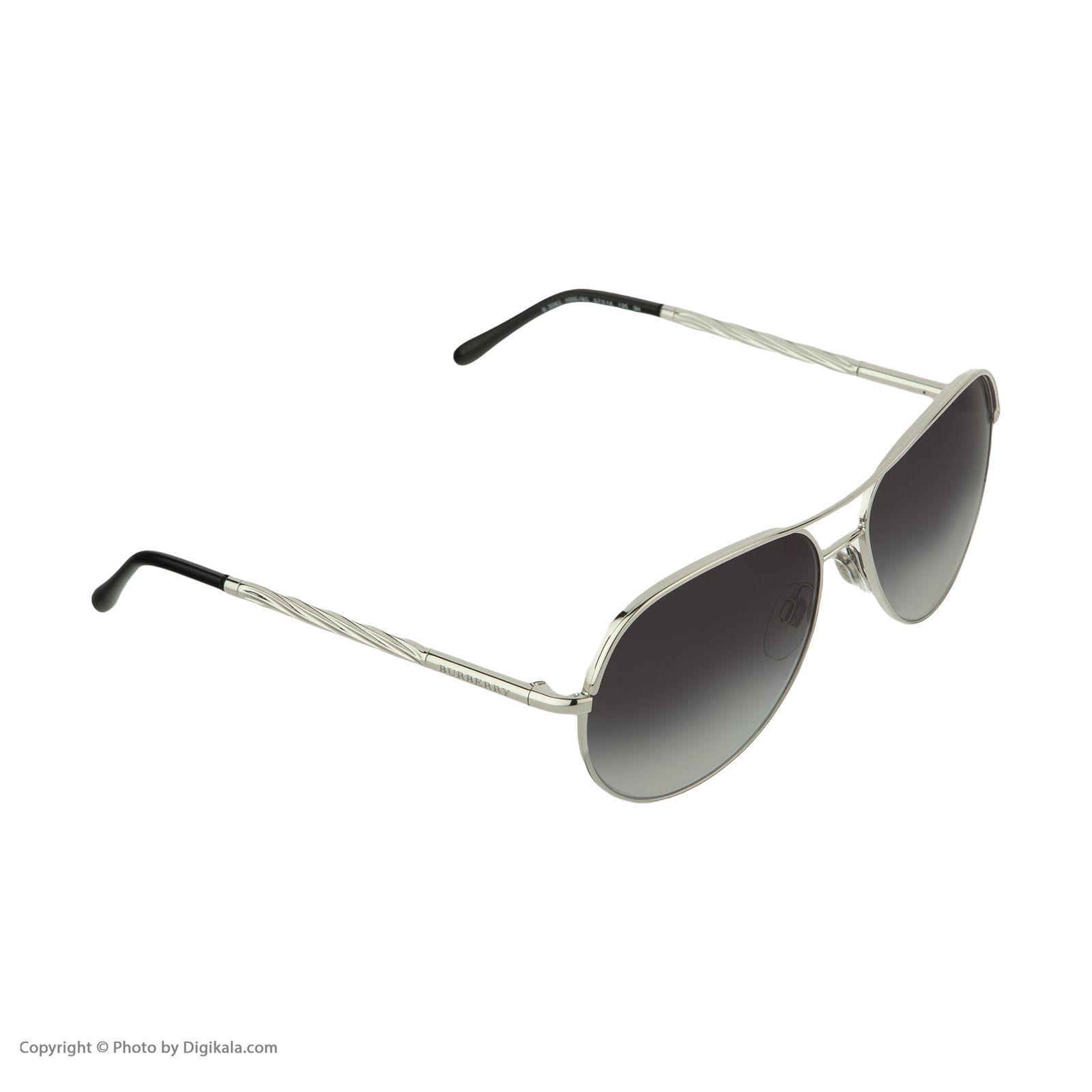 عینک آفتابی زنانه بربری مدل BE 3082S 10058G 57 -  - 5