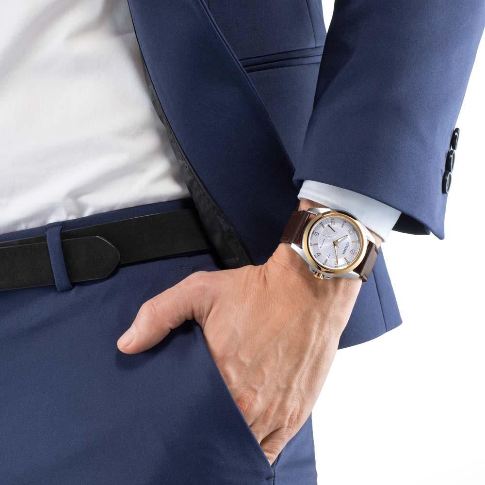ساعت مچی عقربهای مردانه سیتی زن مدل AW7056-11A