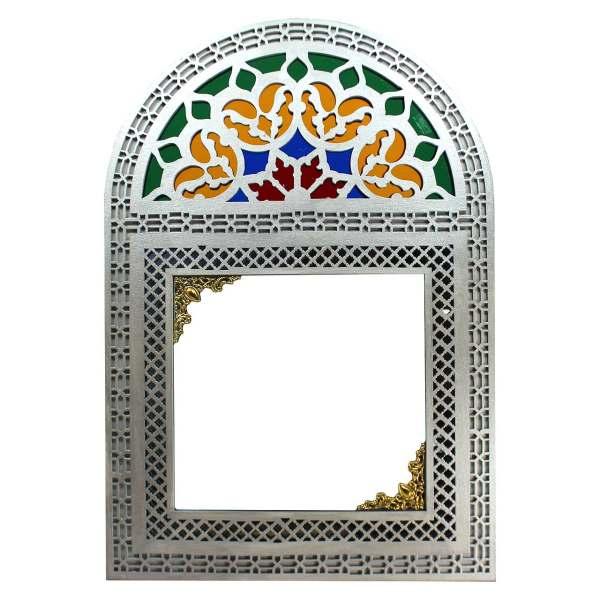 آینه دست نگار مدل پنجره سنتی کد 35
