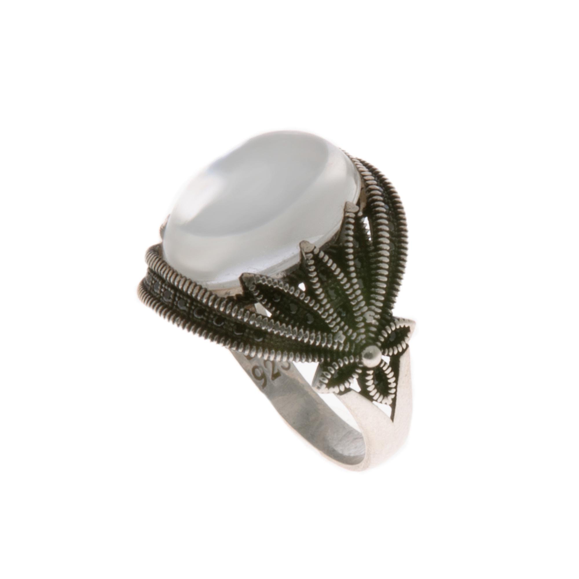 انگشتر نقره زنانه مدل 141417