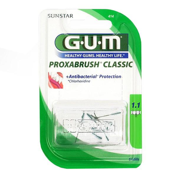 برس یدک مسواک بین دندانی جی یو ام مدل Proxabrush Classic سایز 1.1