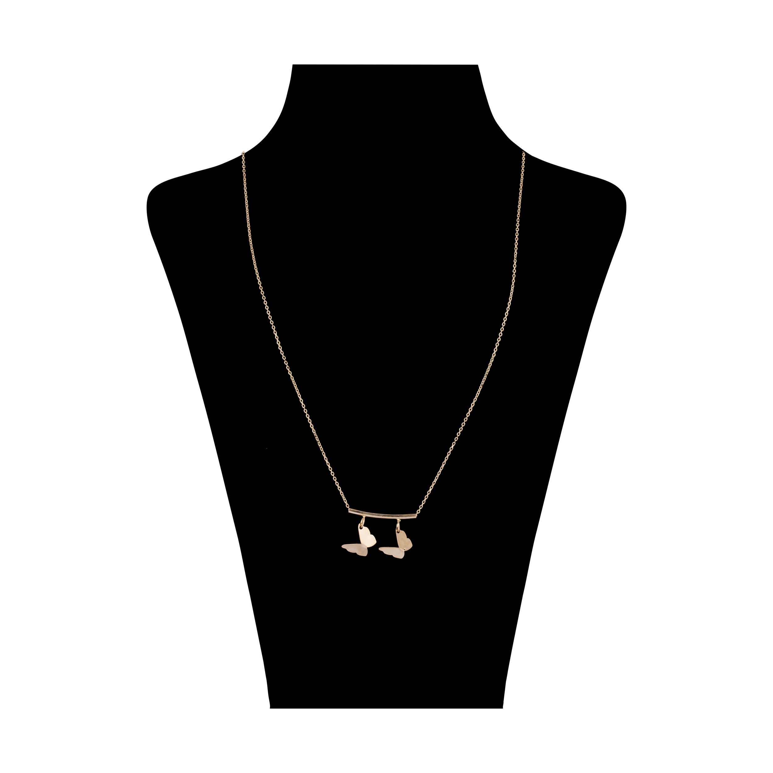 گردنبند طلا 18 عیار زنانه آلند کد BGA70