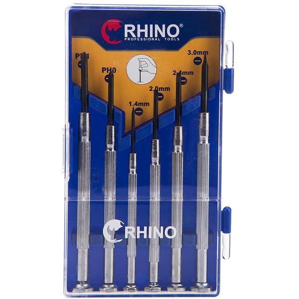 مجموعه 6 عددی پیچ گوشتی ساعتی رینو مدل RPT351D