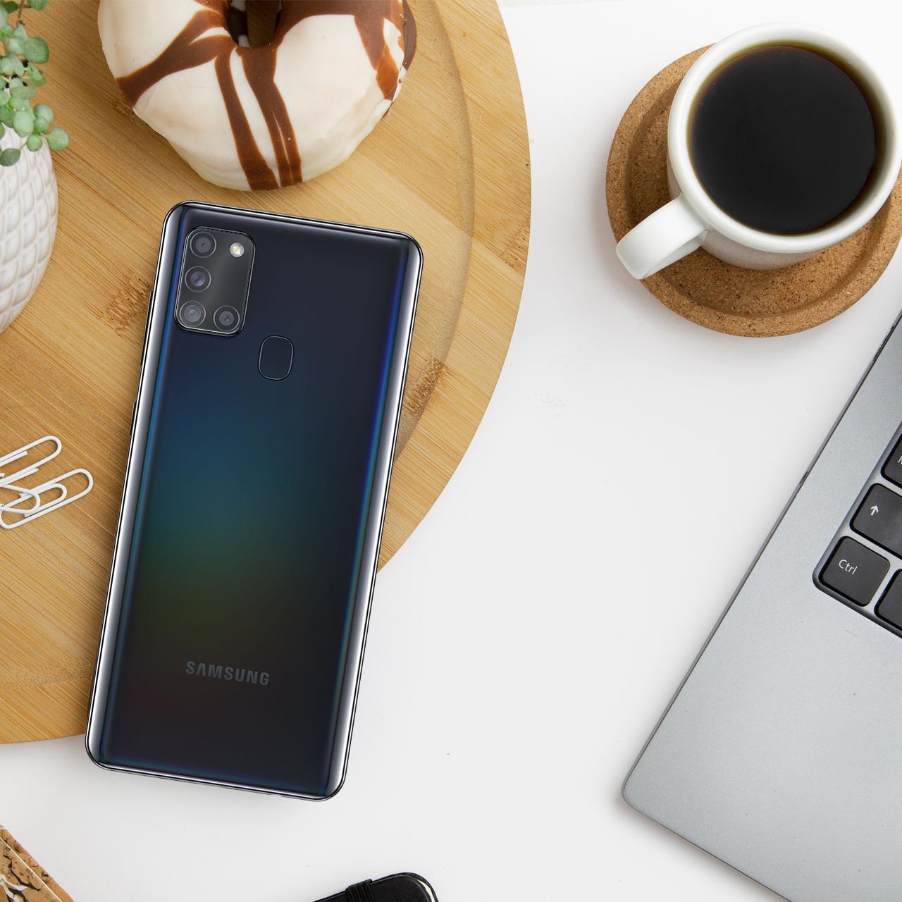 محافظ لنز دوربین سیحان مدل GLP مناسب برای گوشی موبایل سامسونگ Galaxy A21s main 1 2