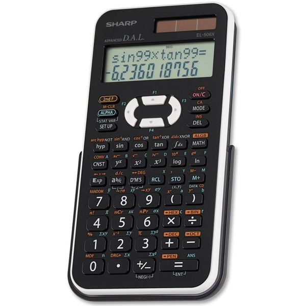 ماشین حساب شارپ مدل EL-506X wh