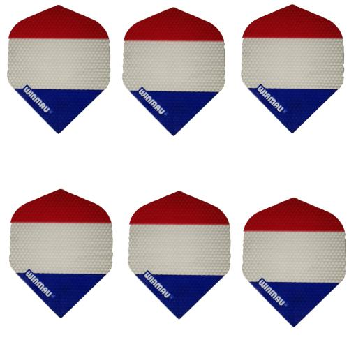 پر دارت وین مائو طرح پرچم فرانسه بسته 6 عددی
