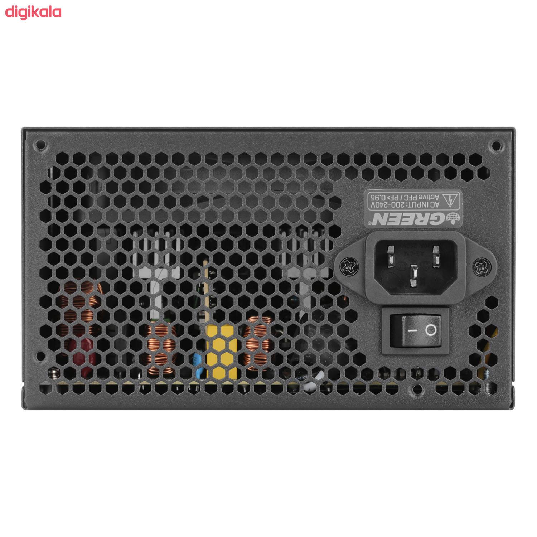 منبع تغذیه کامپیوتر گرین مدل GP450A-ECO Rev3.1 main 1 5