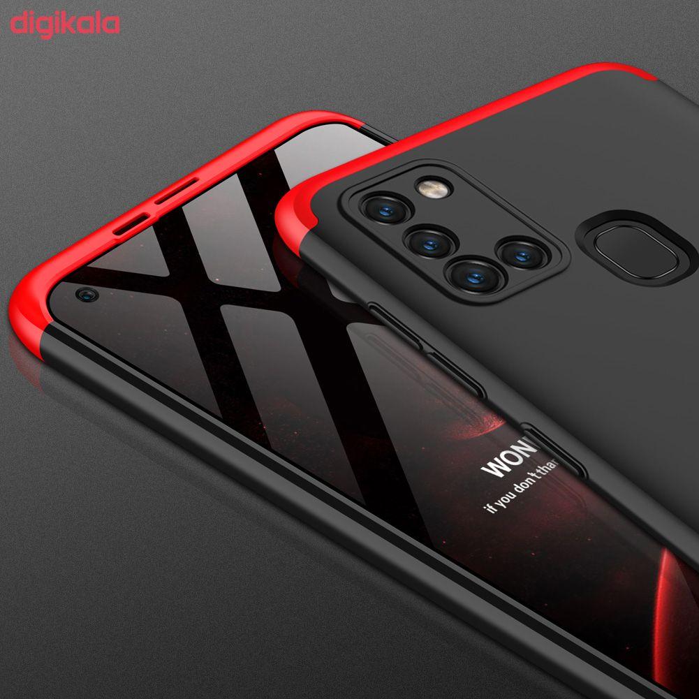 کاور 360 درجه جی کی کی مدل GK-A21S-21S مناسب برای گوشی موبایل سامسونگ GALAXY A21S main 1 12