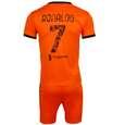 ست 4 تکه لباس ورزشی پسرانه طرح یوونتوس مدل رونالدو 3RD 2021 thumb 2