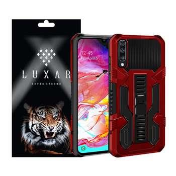 کاور لوکسار مدل kikstand-100 مناسب برای گوشی موبایل سامسونگ Galaxy A70/ A70s