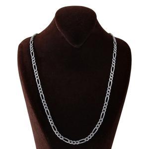 زنجیر نقره مردانه بازرگانی میلادی کد ZR_008