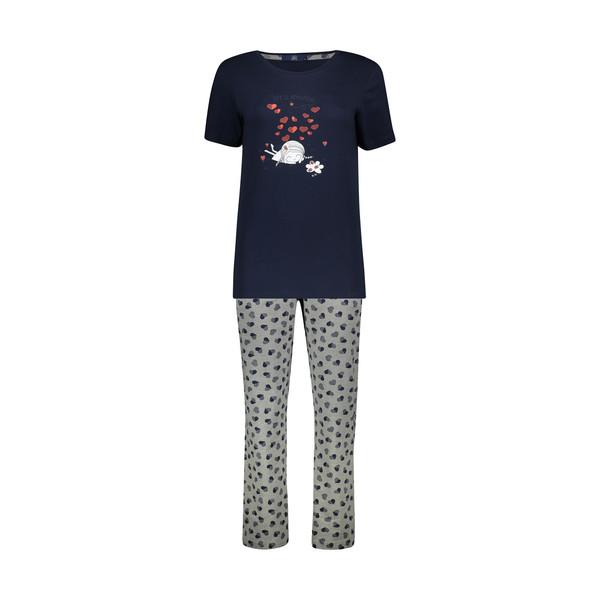 ست تی شرت و شلوار زنانه جامه پوش آرا مدل 4032019304-5991