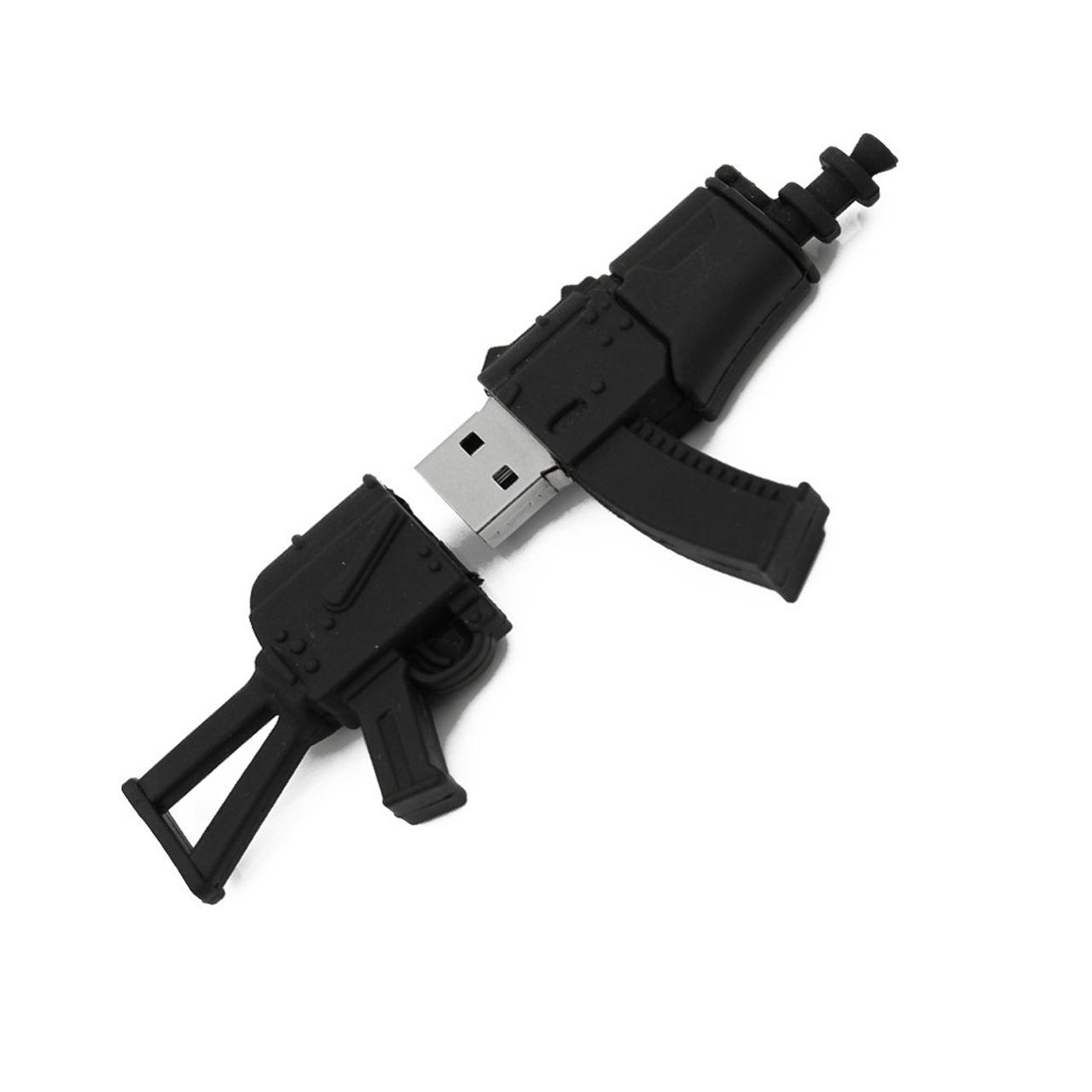 بررسی و {خرید با تخفیف}                                     فلش مموری طرح اسلحه مدل UL-Weapons01 ظرفیت 64 گیگابایت                             اصل