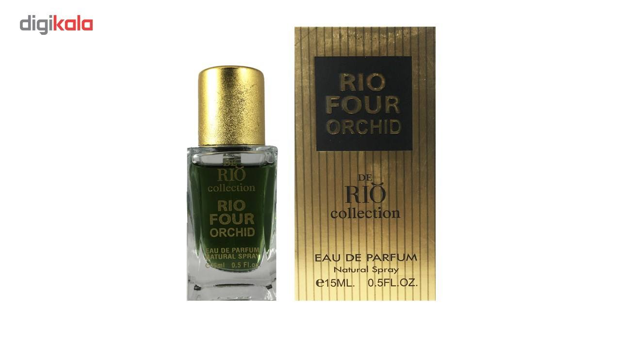 ادو پرفیوم مردانه ریو کالکشن مدل Rio Four Orchid حجم 15ml -  - 3