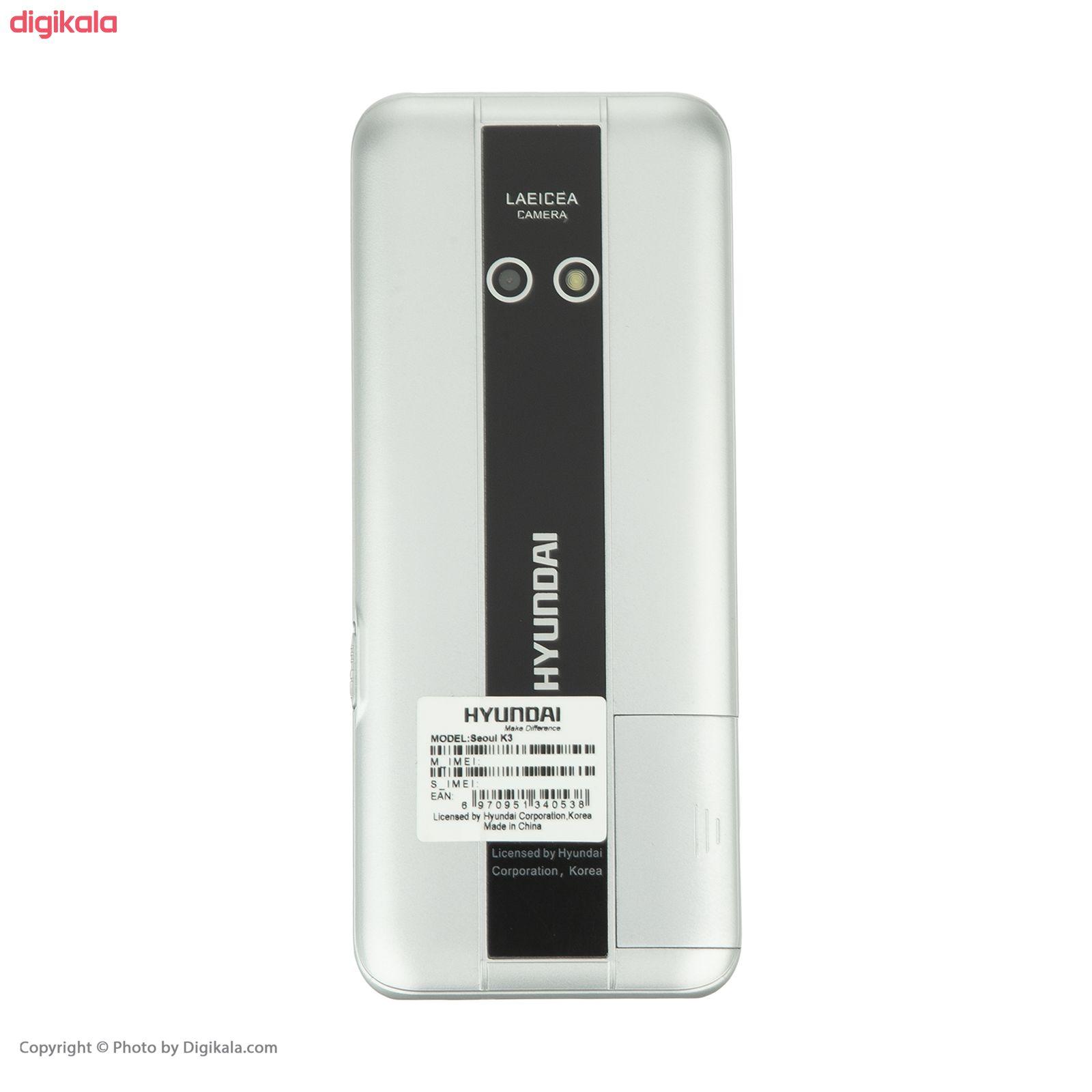 گوشی موبایل هیوندای مدل Seoul K3 دو سیم کارت main 1 7
