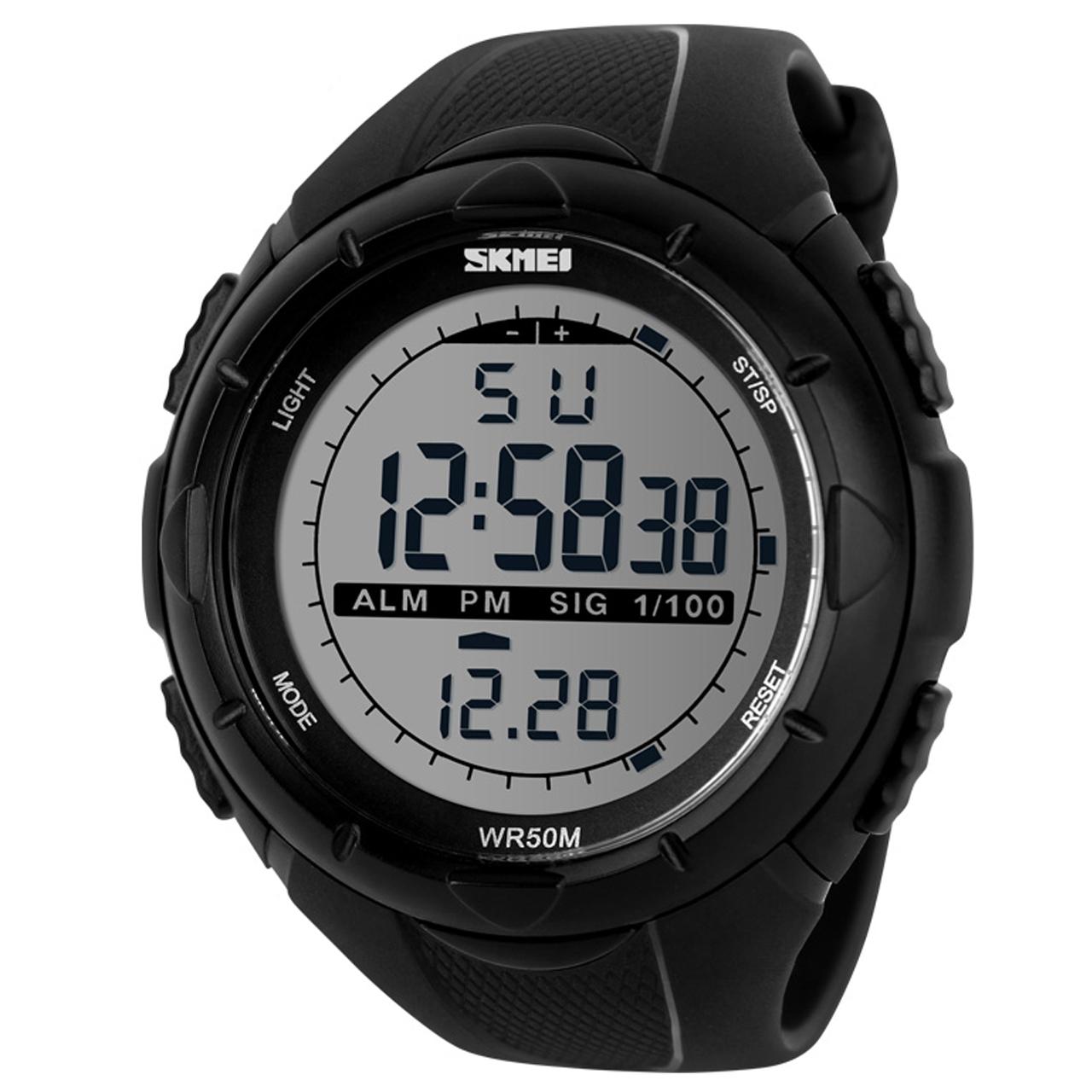 قیمت و خرید                      ساعت مچی دیجیتال مردانه اسکمی مدل 1025M-NP