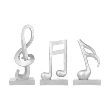 دکوری مدل نت موسیقی مجموعه 3 عددی