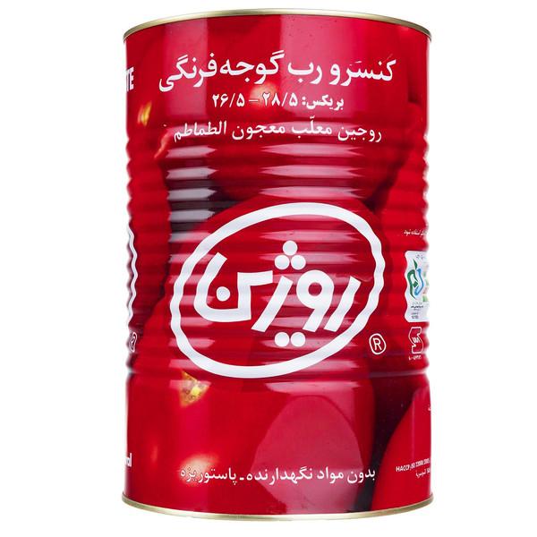 رب گوجه فرنگی روژین - 4.3 کیلوگرم
