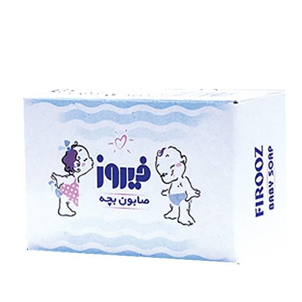 خرید                      صابون بچه نارگیل فیروز مقدار 75 گرم