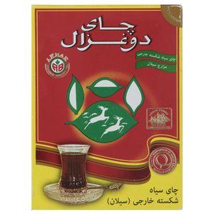 چای دو غزال مدل Pure Ceylon بسته 100 گرمی