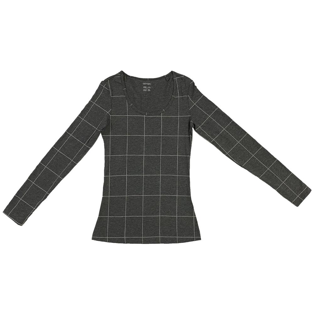 تی شرت آستین بلند زنانه اسمارا کد gr1452-003