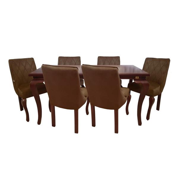 میز و صندلی ناهار خوری چوبکو مدل 628_6
