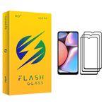 محافظ صفحه نمایش فلش مدل +HD مناسب برای گوشی موبایل سامسونگ Galaxy A10s بسته سه عددی