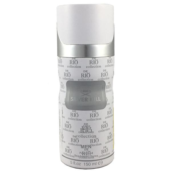 اسپری ضد تعریق مردانه ریو کالکشن مدل Rio Silver Hill حجم 150ml