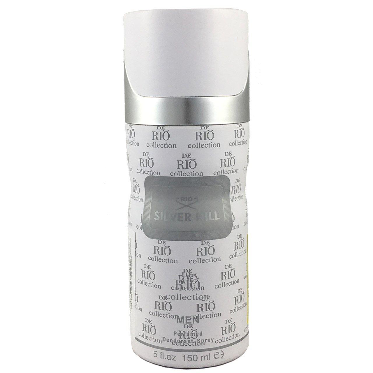 اسپری ضد تعریق مردانه ریو کالکشن مدل Rio Silver Hill حجم 150ml -  - 1