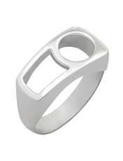 انگشتر نقره زنانه کد R207Psil -  - 1