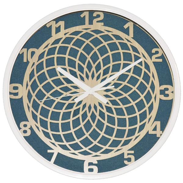 ساعت دیواری تارا مدل 401  قاب سفید