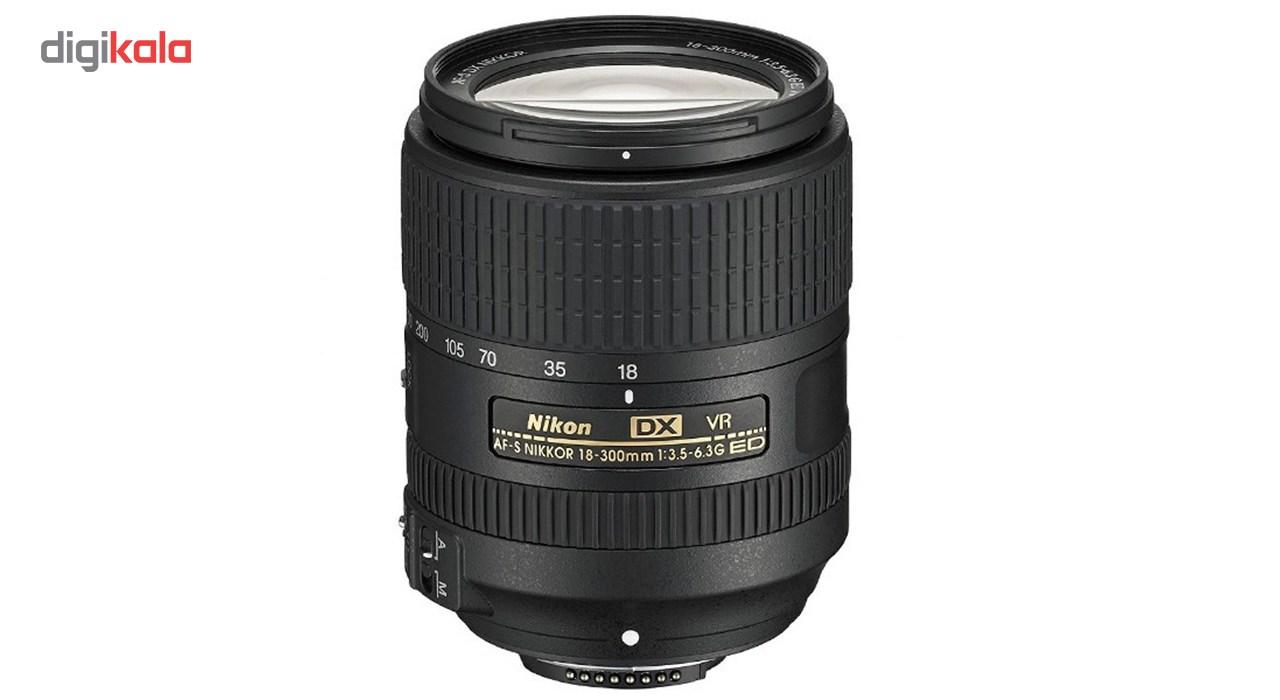 لنز دوربین نیکون مدل 18.300mm F/3.5-6.3G ED VR DX