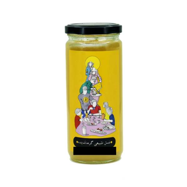 عسل گرماندیده زنبوردار بهنام رئوفیدهچی - ۶۵۰ گرم