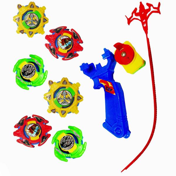 اسباب بازی مدل فرفره انفجار مجموعه 9 عددی