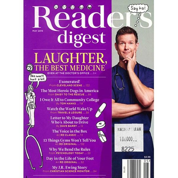 مجله ریدرز دایجست - می 2015