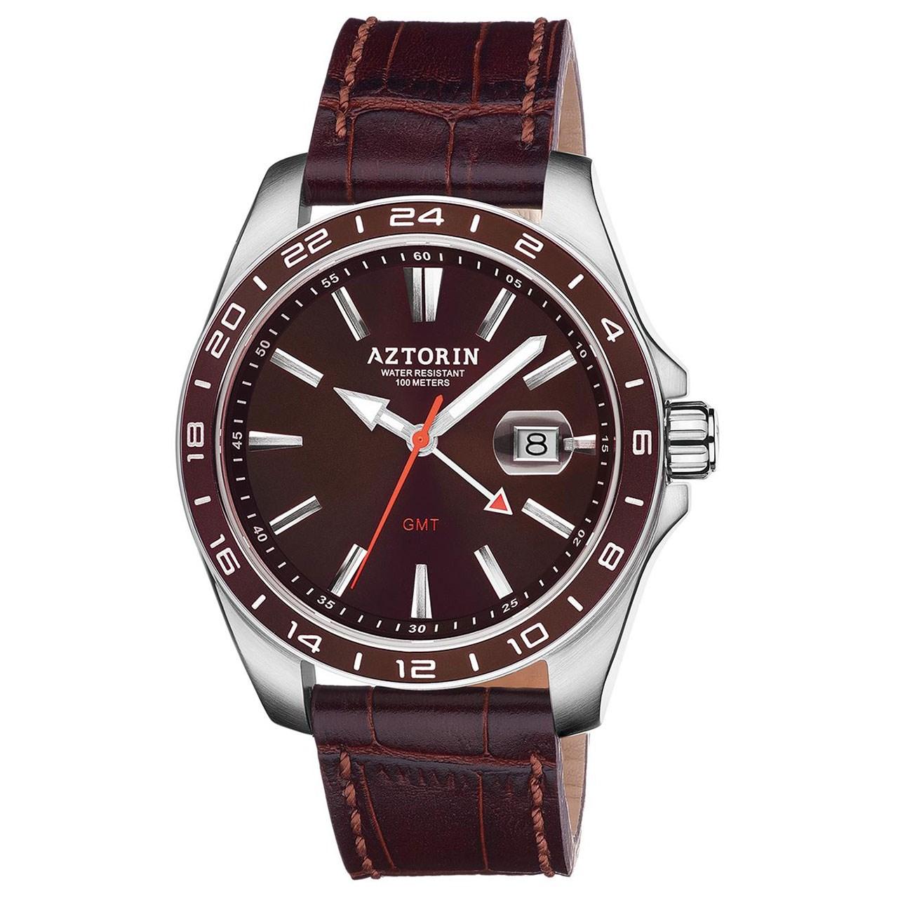 ساعت مچی عقربه ای مردانه ازتورین مدل A063.G307