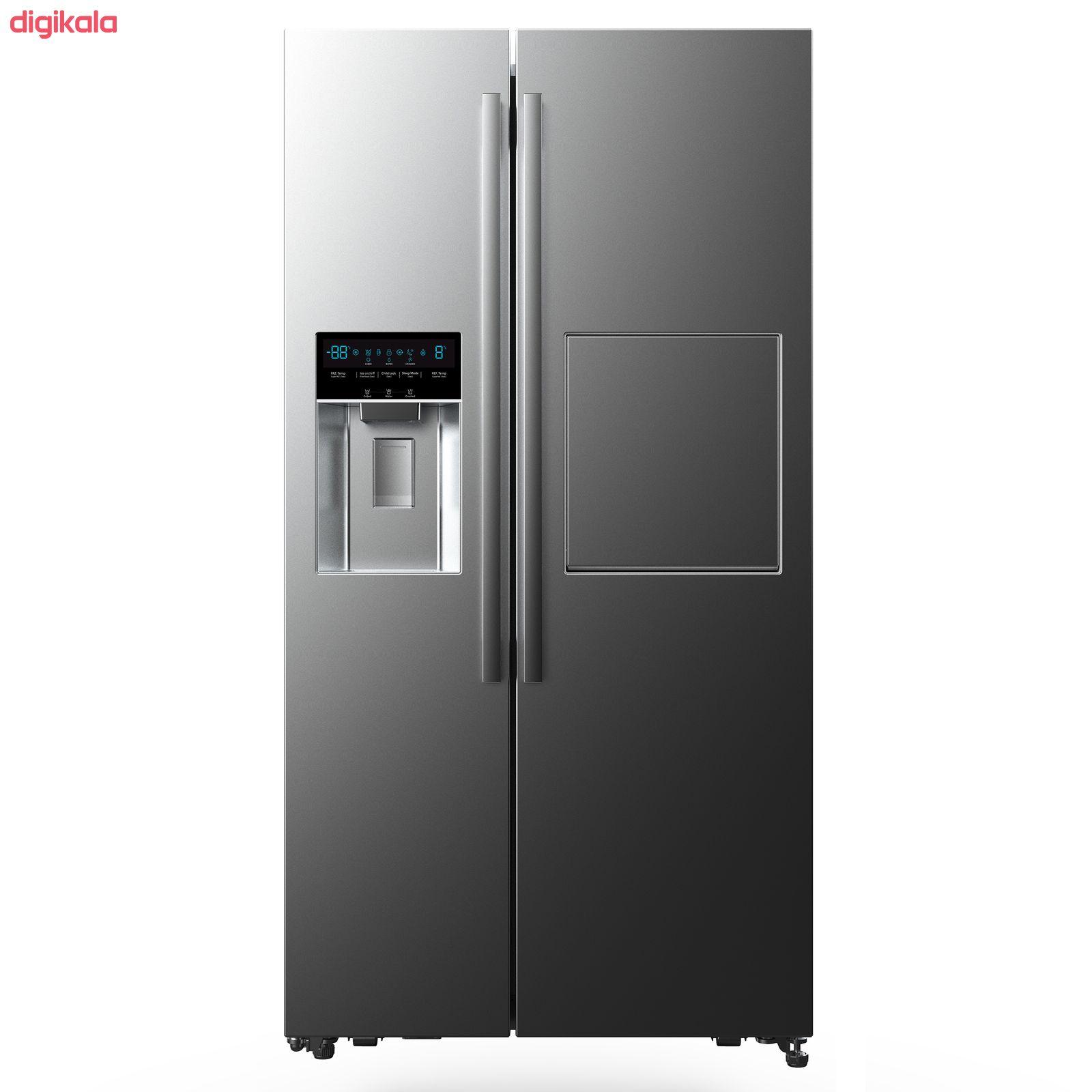 یخچال و فریز ساید بای ساید دوو مدل D4S-2915SS main 1 1