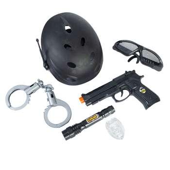 ست تفنگ بازی مدل پلیس کد 4290