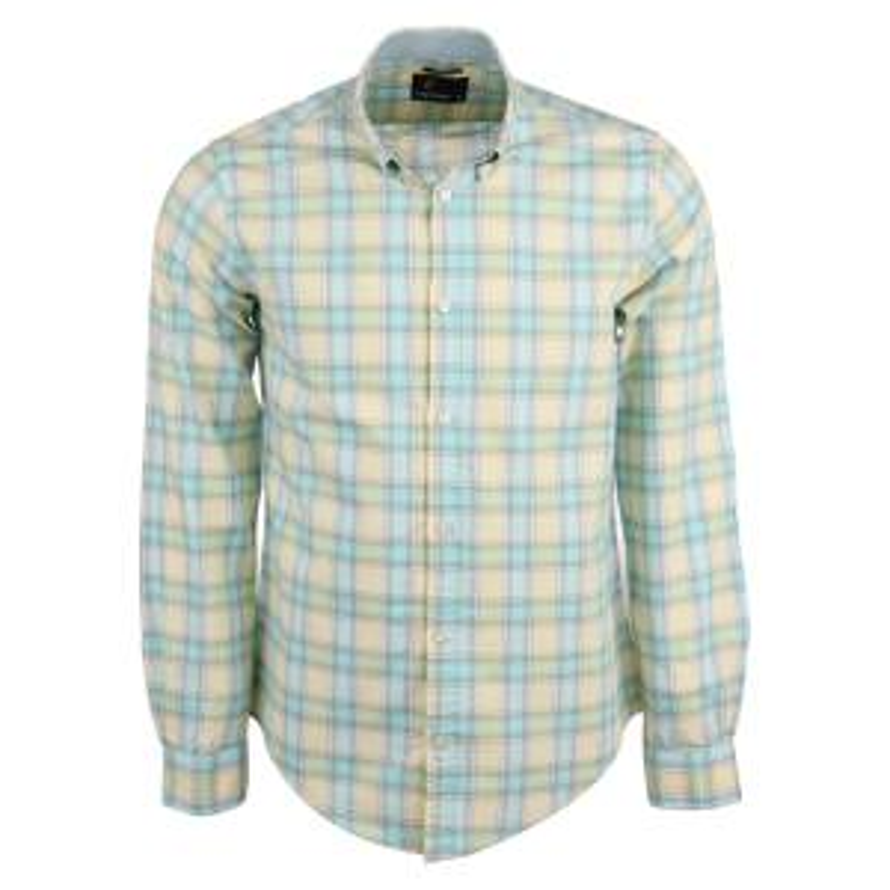 پیراهن نخی آستین بلند مردانه  کاپریکورن مدل 1
