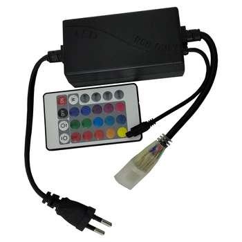 ریموت کنترل ریسه مدل RGB کد 24