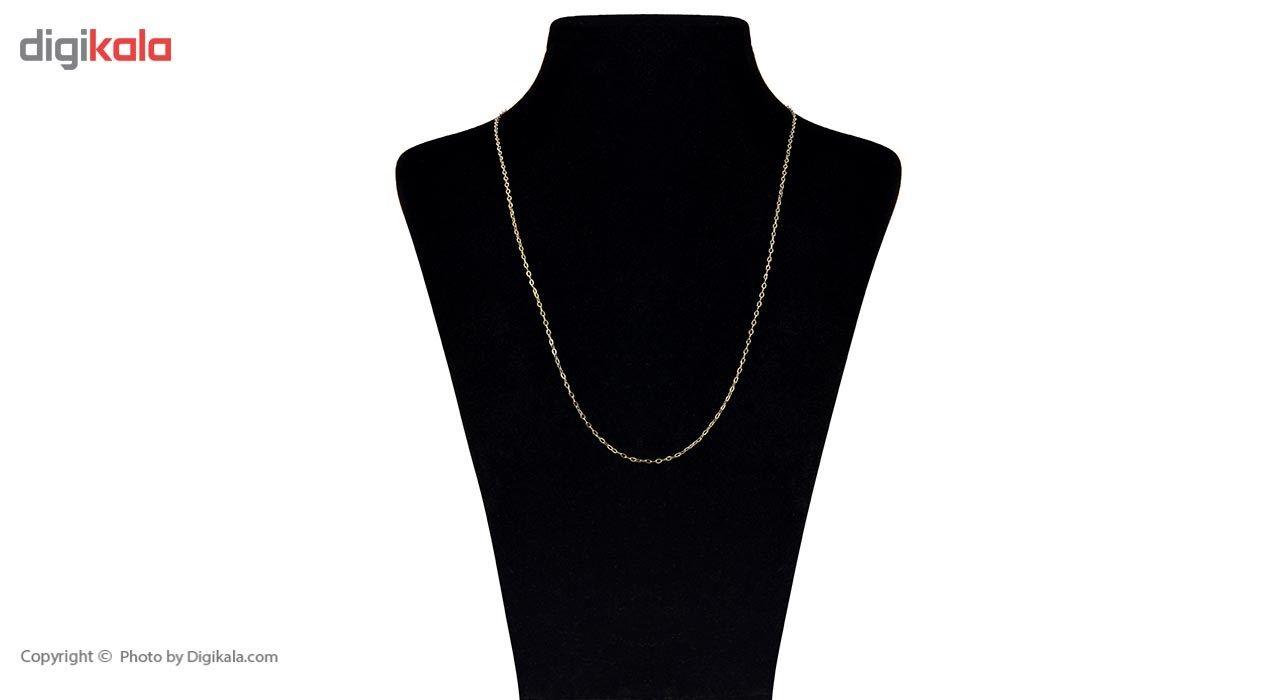 زنجیر طلا 18 عیار ماهک مدل MM0650 - مایا ماهک -  - 2
