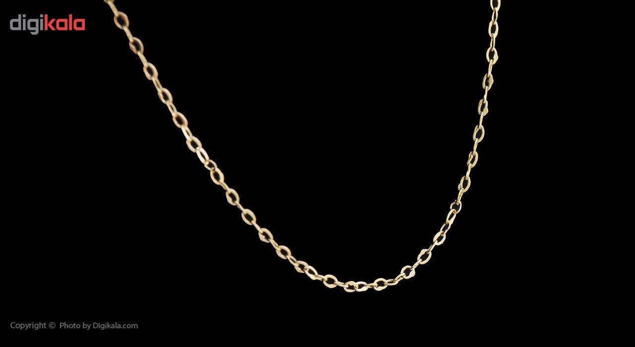 زنجیر طلا 18 عیار ماهک مدل MM0650 - مایا ماهک -  - 3