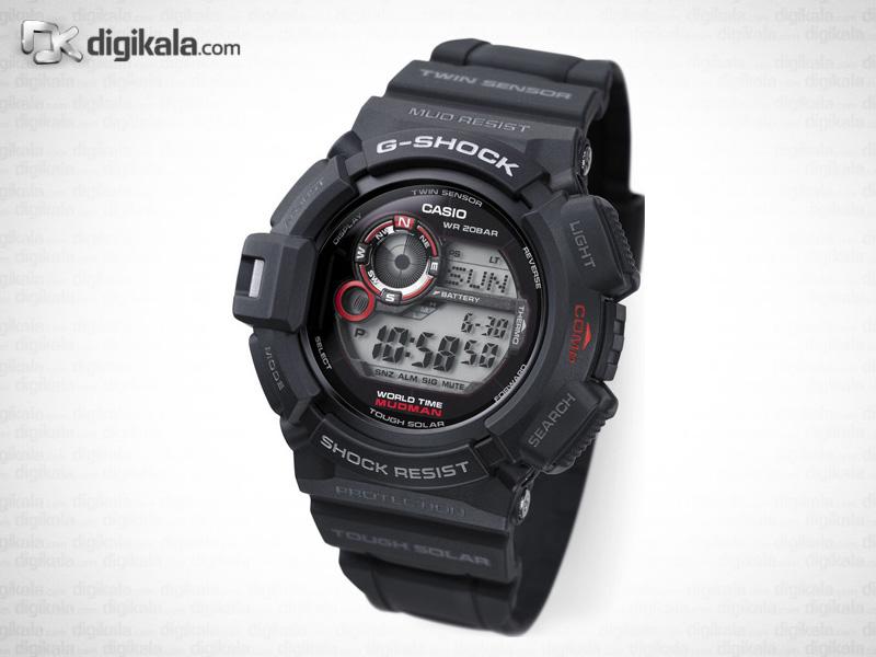 خرید ساعت مچی دیجیتال مردانه کاسیو جی-شاک G-9300-1DR | ساعت مچی
