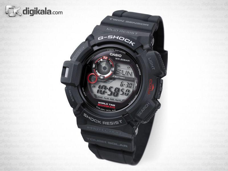 ساعت مچی دیجیتال مردانه کاسیو جی-شاک G-9300-1DR -  - 1