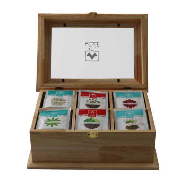 چای و دمنوش کیسه ای چای دبش بسته 50 عددی