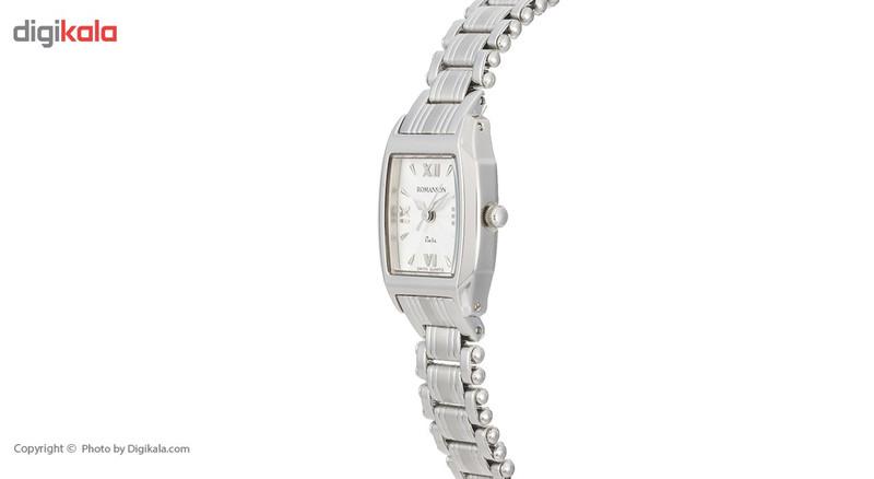 ساعت مچی عقربه ای زنانه رومانسون مدل NM9958LL1WAS2W