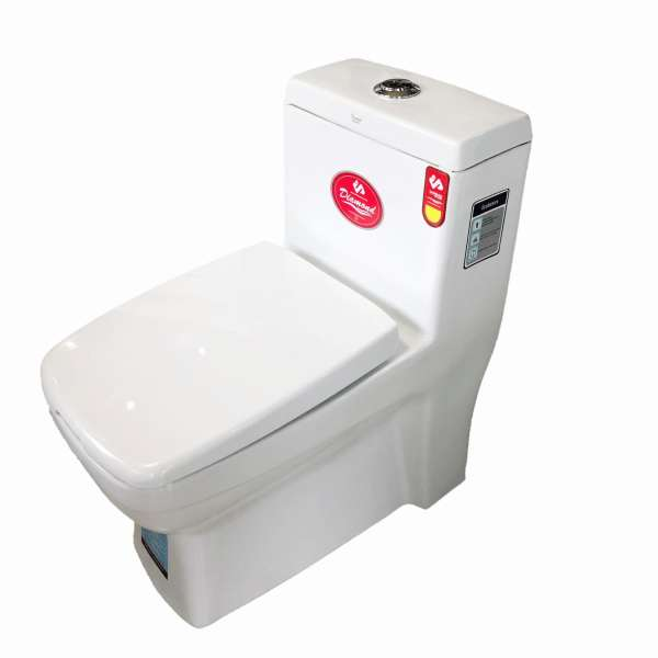 توالت فرنگی سرمد سرام مدل دیاموند